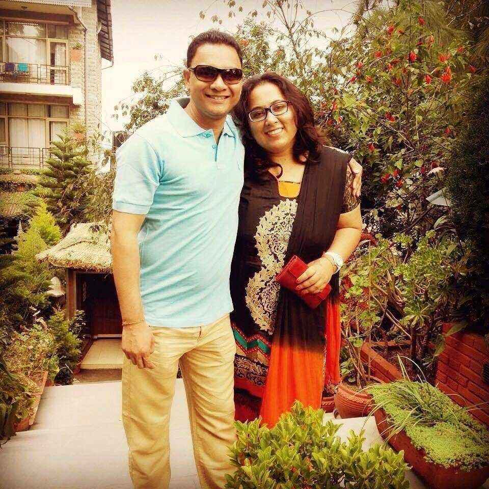 sankalp sharma with her wife