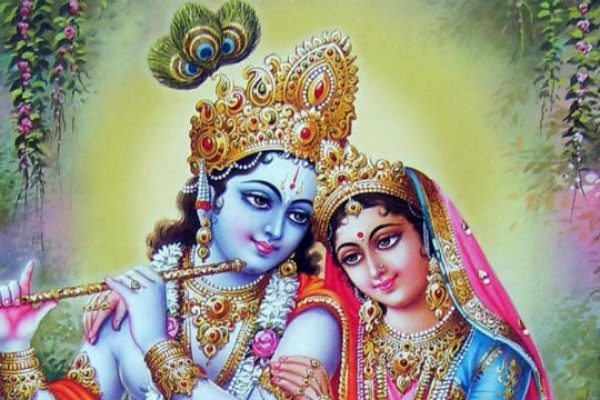 Rukmini and Krishna