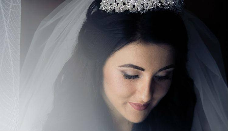 Wedding bride woman