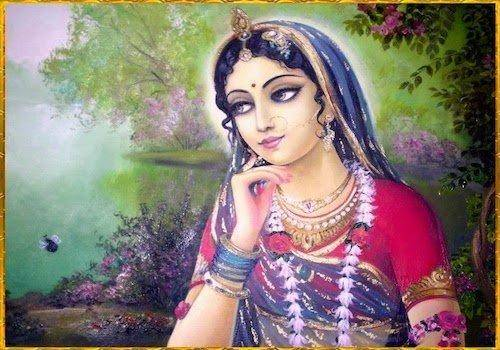 Here's the story of what happened to Radha after Krishna