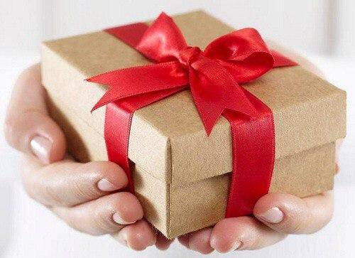 Surprise him by giving gifts