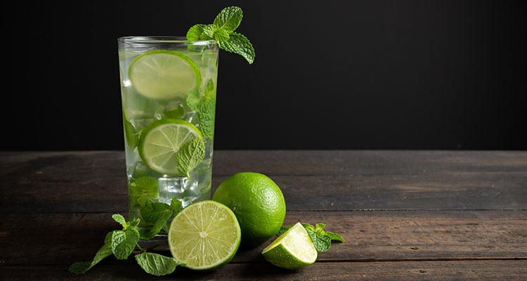 Pour all ingredients in a cocktail shaker with ice and shake very well. Strain it in your glass and garnish with a lemon slice.