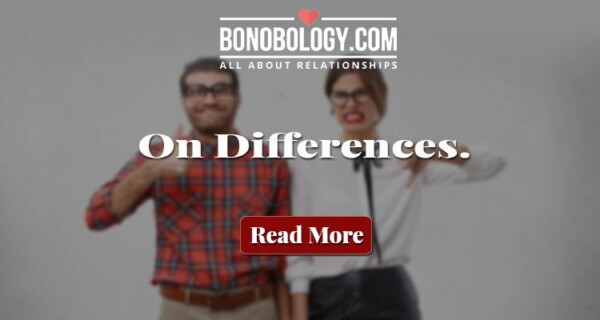 on differences