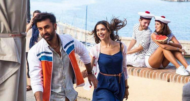 Ranbir and deepika in Tamasha