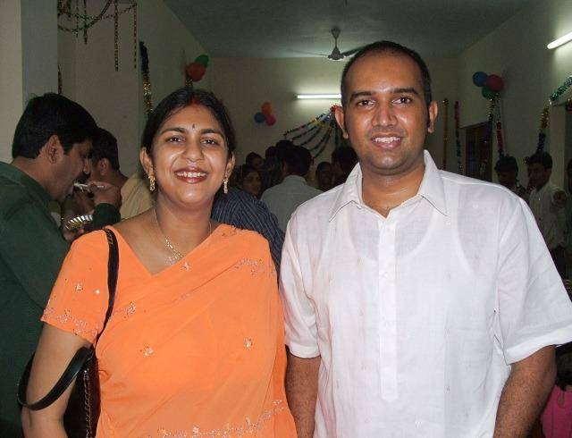 Riti and her husband