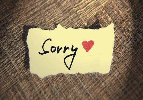 Say-sorry