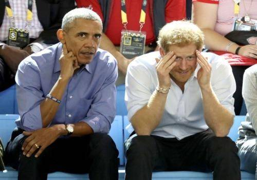 barack-obama and prince harry