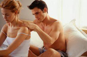 couple warming up with a body massage
