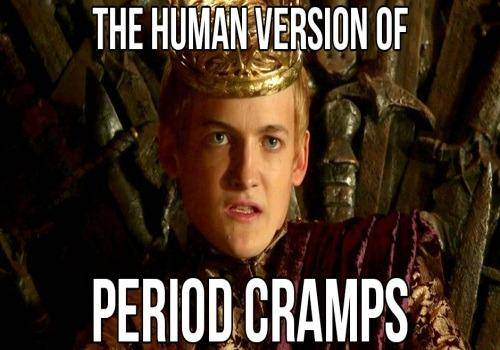cramps in period