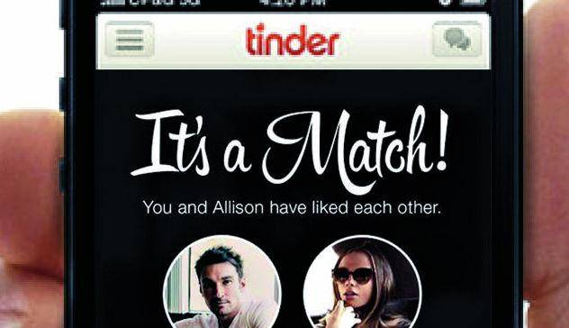 finding a match on Tinder