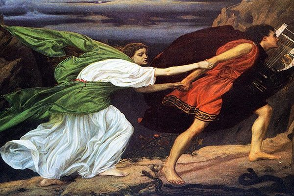 Orpheus and Eurydice were madly in love and wanted to be together