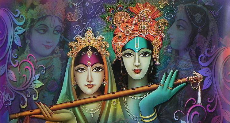 The radha-krishna love story gives lessons to couples even today