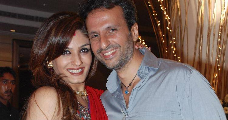 Raveena Tandon and her husband Anil Thadani