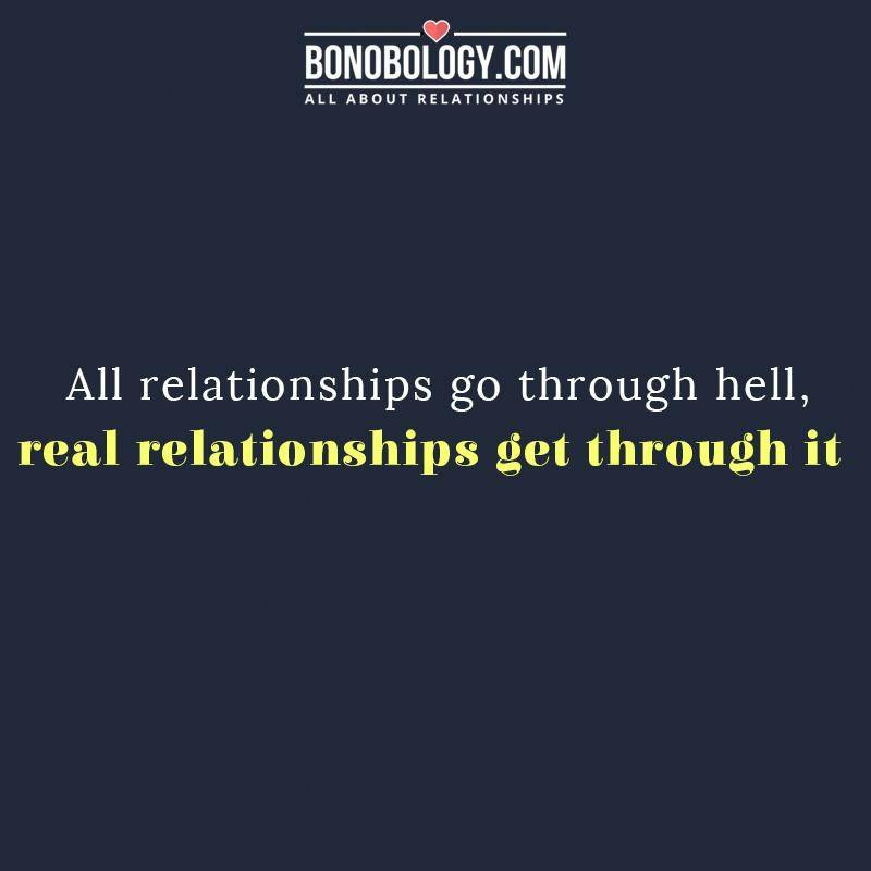 Real relationships