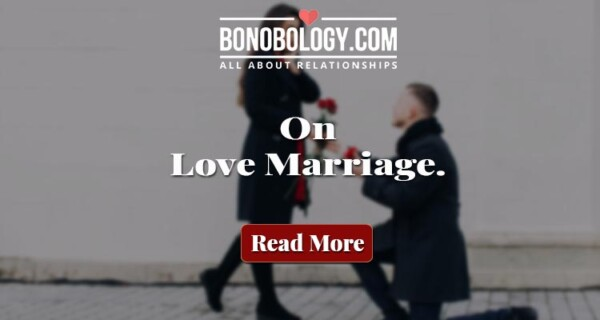 Love marriages