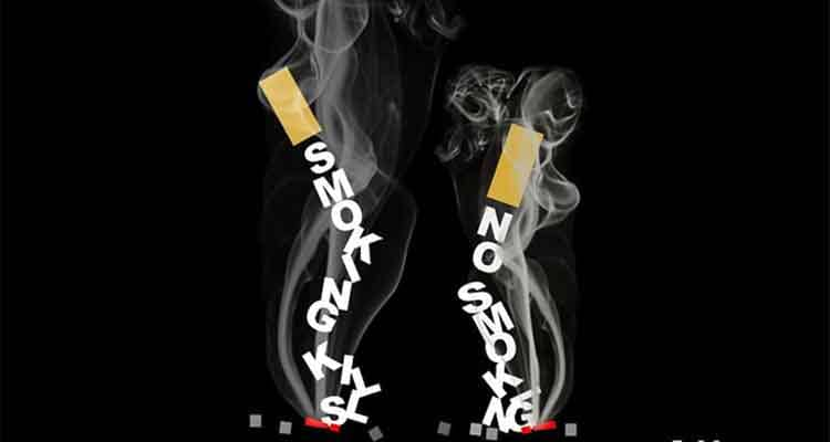 no to smoking