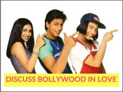 Bollywood in love