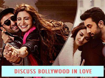 Discuss Bollywood in love