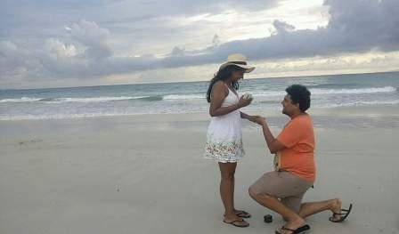 Engagement - man proposing
