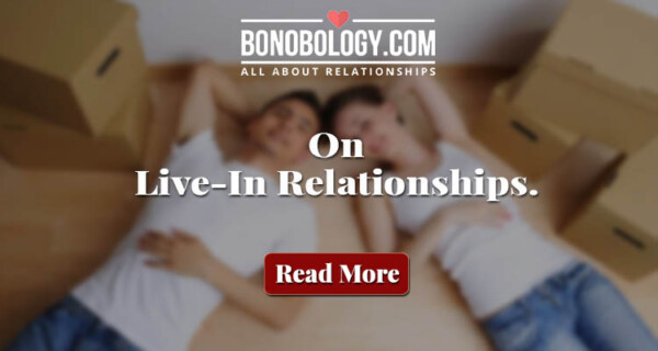 Challenges in a live in relationship