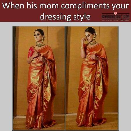 Getting compliment