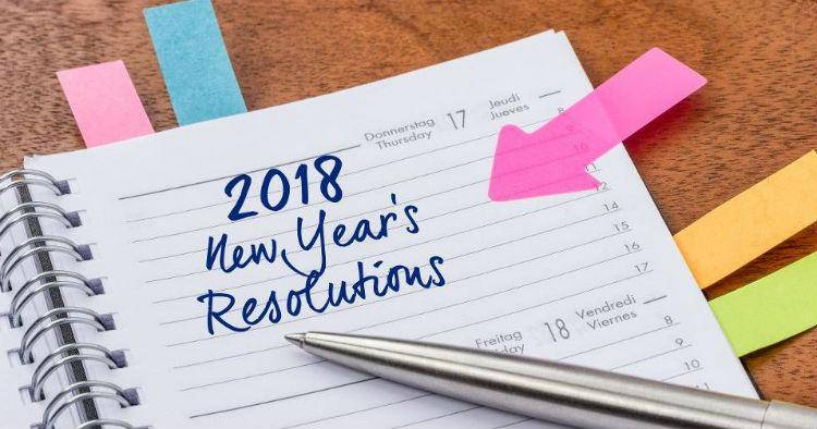 Happy New Year's resolutions
