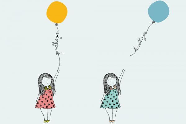 Hope and balloon