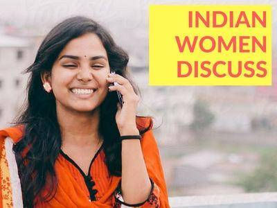 Indian women discuss