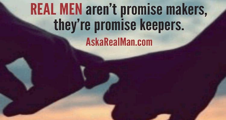 keep your word and do not break promises