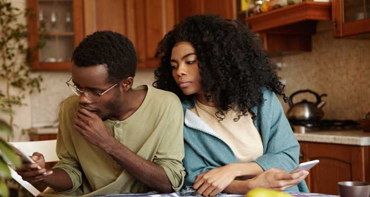 signs of a lying spouse