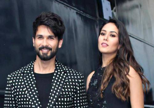 Shahid and Mira in vogue