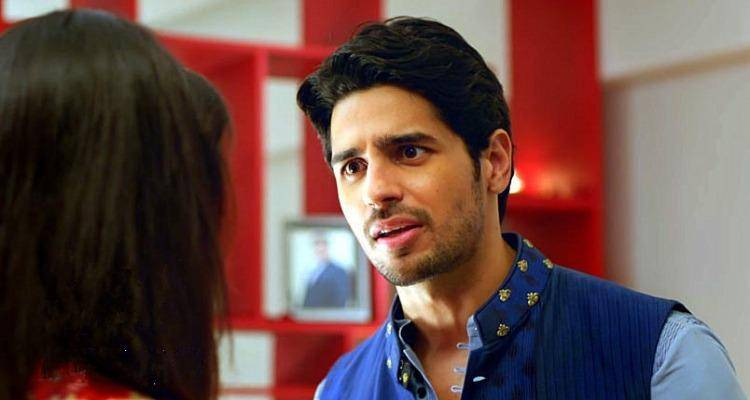 Siddharth malhotra in bar bar dekho which talks about trust in a relationship and he feels he is not good enough for you