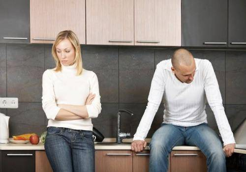Wen you are divorced and is in a relationship the reason for fighting changes completely