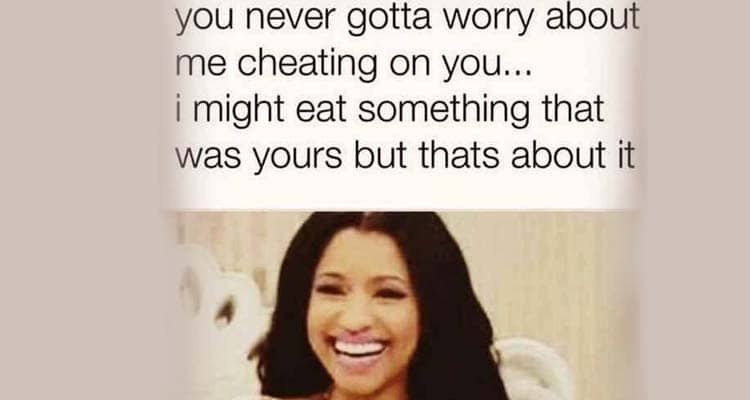 do not worry about cheating
