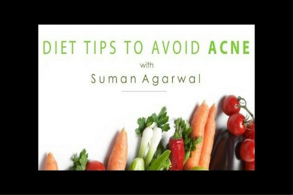 food to prevent acne