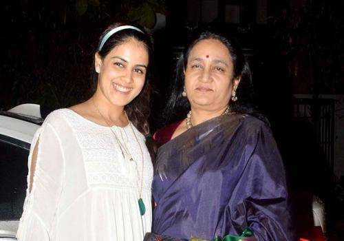genelia with her mother in law