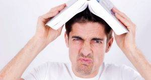 man hate reading book