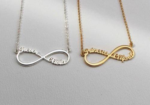 infinity necklaces are wonderful gift ideas