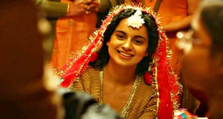 kangana smile in queen