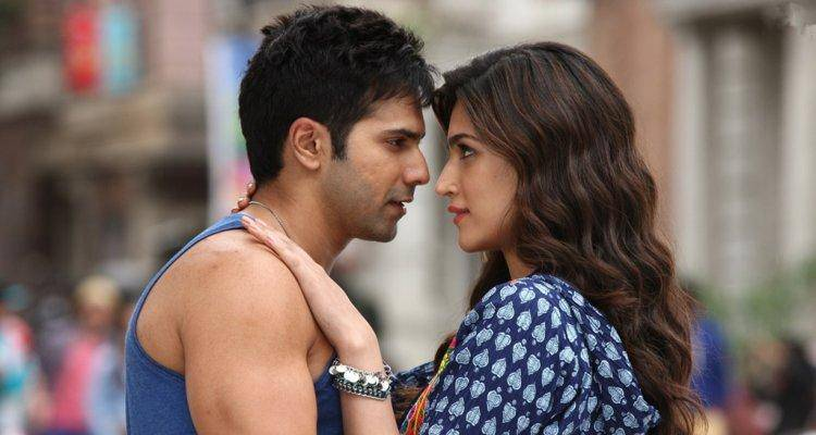 kriti and varun in dilwale