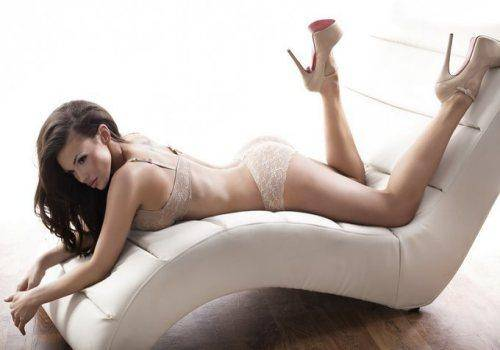 lady lying wearing sexy lingerie