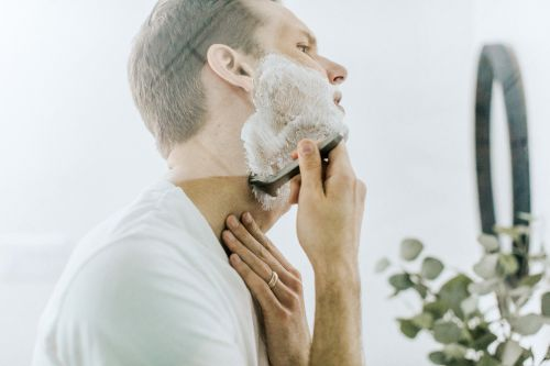 male grooming routine