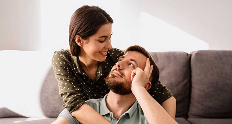 Couples that are happy and content in their relationship have eyes only for each other.