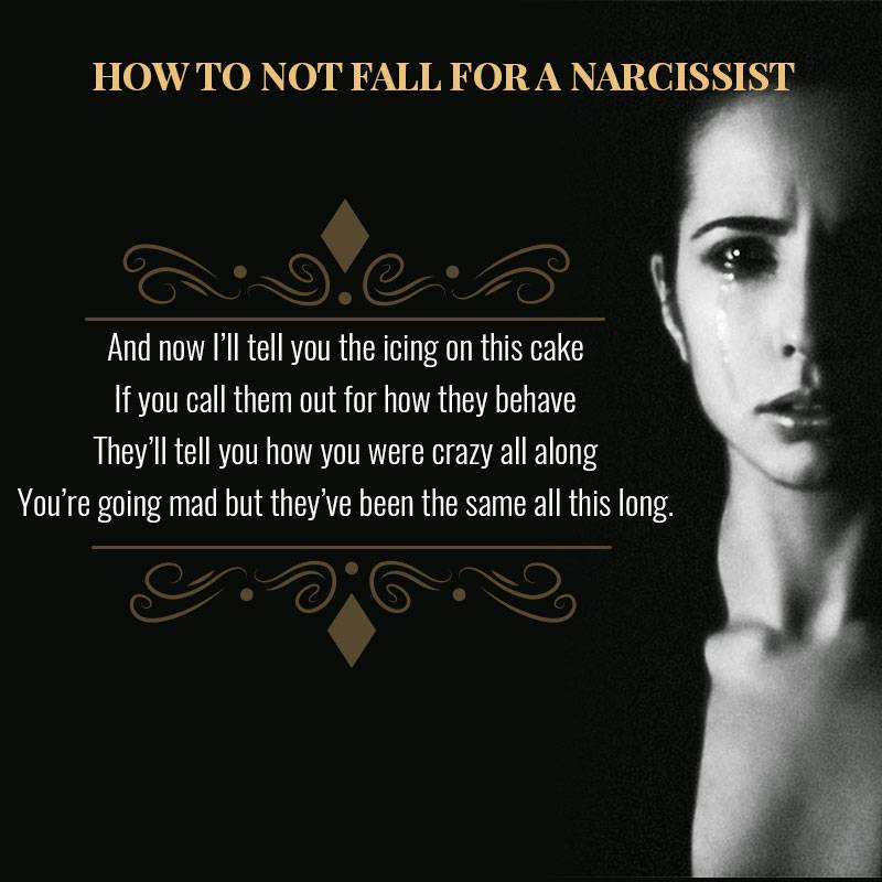 In love with a narcissist
