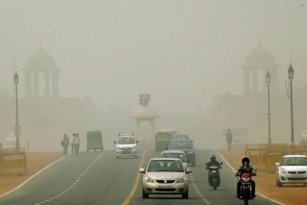 Pollution Delhi Smog