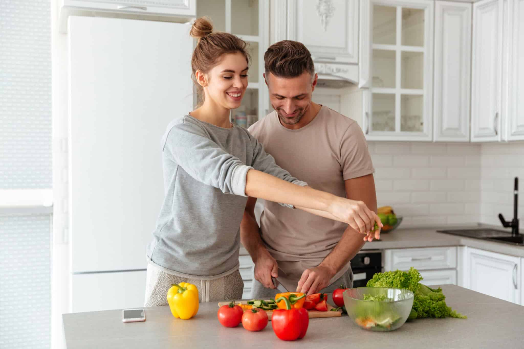 your relationship with a fitness freak is balancing on a very serious knife point of food habits.