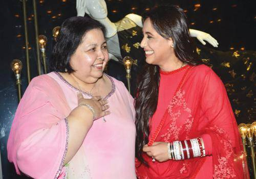 rani with mother in law