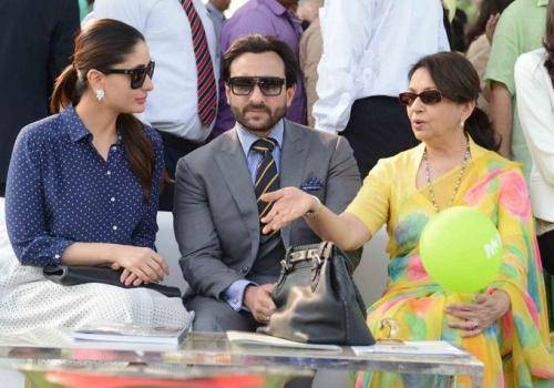 saif kareena and sharmila- show love to your mother-in-law
