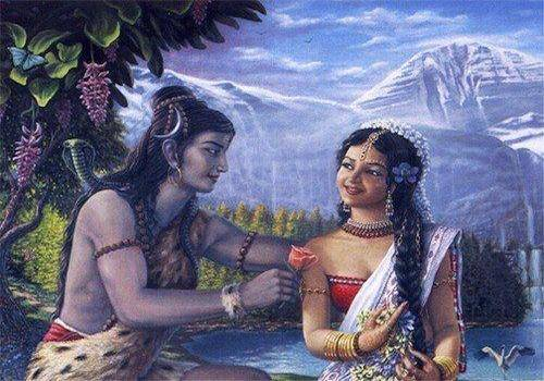 The relationship between Shiva and Parvati is divine and beautiful