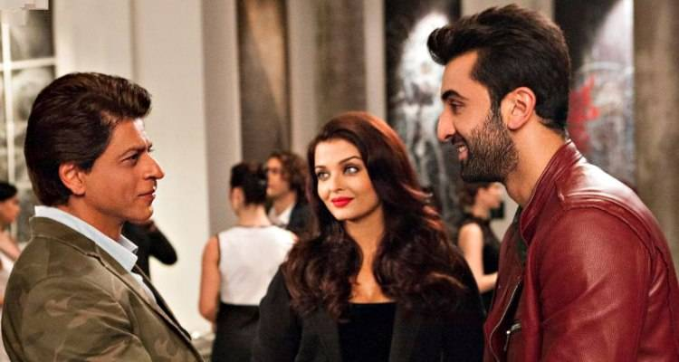 shahrukh and ranbir in ae dil hai mushkil